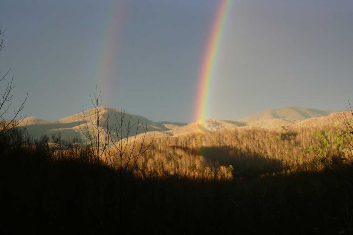 why do rainbows form in an arch askscience