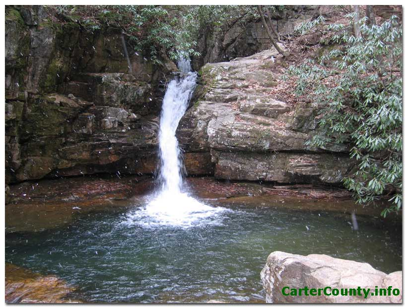 Appalachian Waterfalls of Carter County Tennessee